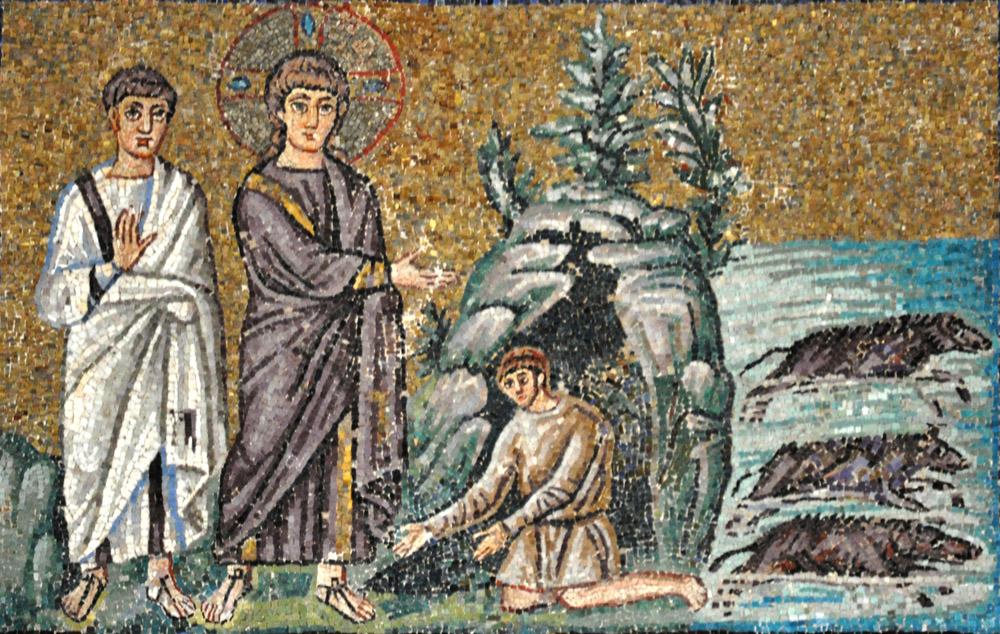 Image result for jesus gerasene demoniac