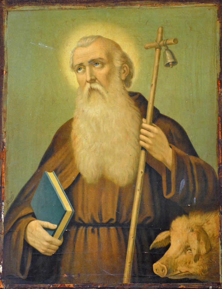 Image result for saint anthony abbot