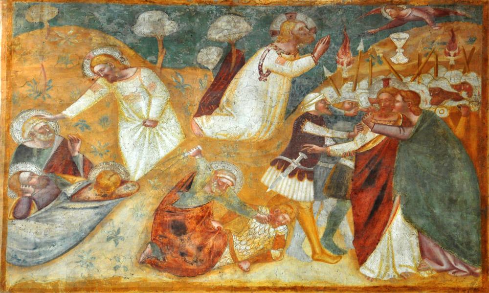 the arrest of jesus in art