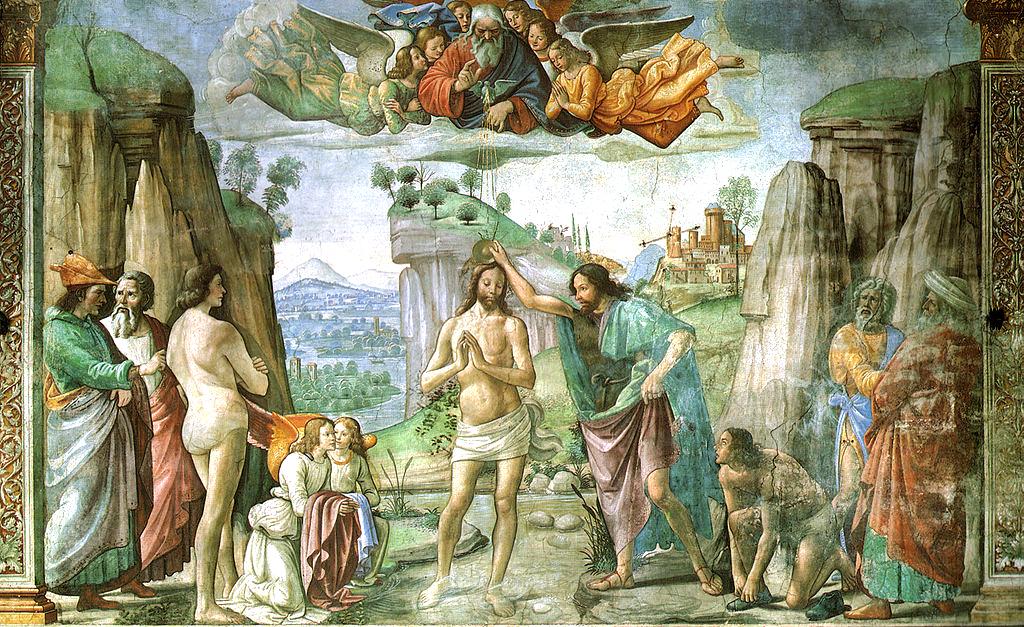 baptism of christ in art
