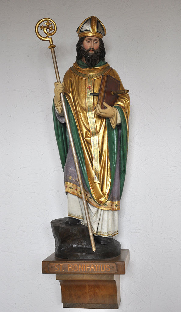 saint boniface christian personals Chapter iii: st boniface (ad 680-755) although the church of ireland was in a somewhat rough state at home, many of its clergy undertook missionary work on the continent and by them and.