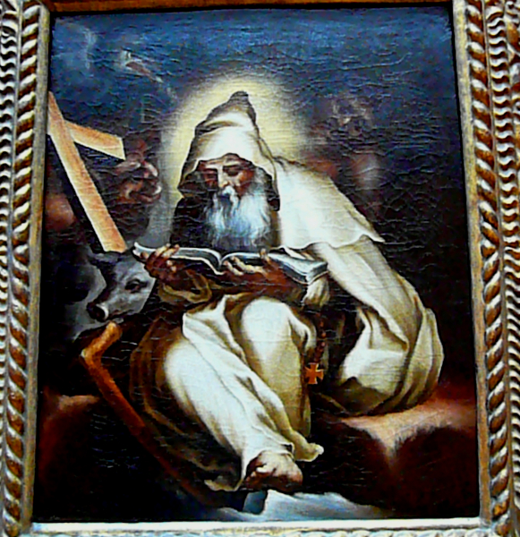 Anthony Abbot In Art