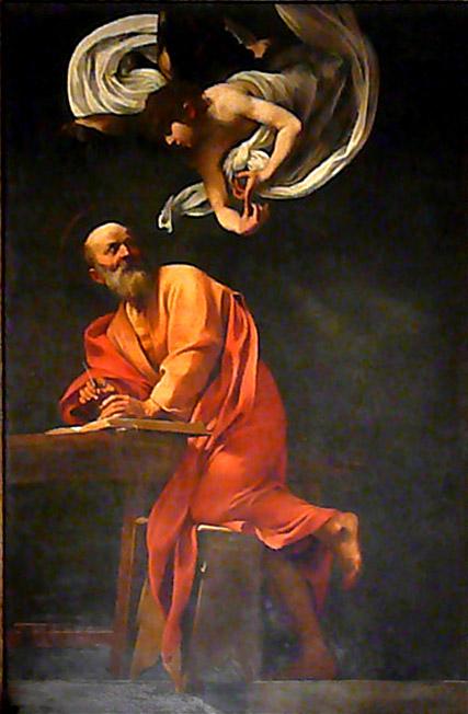 Caravaggio, St. Matthew - 90.6KB