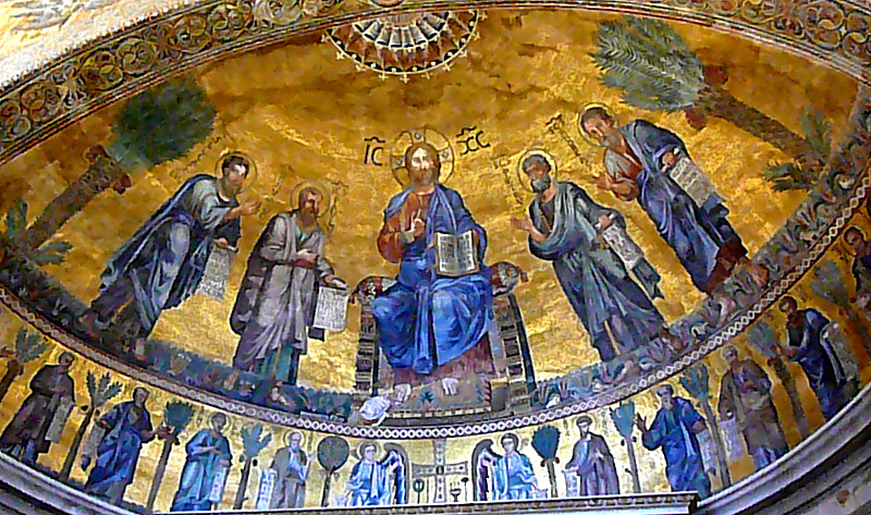 In The Beginning There Was Water >> Apse Mosaic St. Paul Outside the Walls
