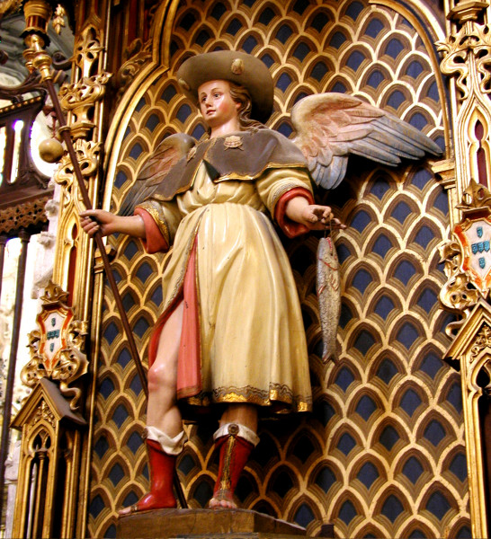 St Raphael Archangel Statue: Raphael And Tobias: Iconography